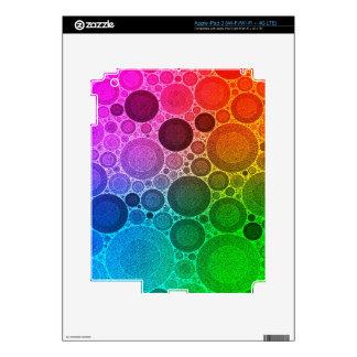 Retro Florescent Pattern iPad 3 Decal