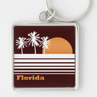 Retro Florida Keychain
