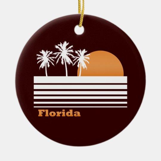 Retro Florida Ornament