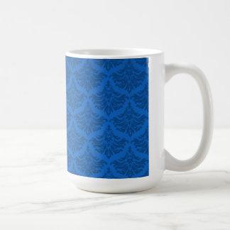 Retro Flourish Endeavor Blue Coffee Mug