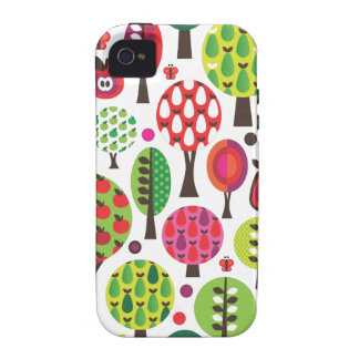 Retro flower apple butterfly pattern iphone case iPhone 4/4S cover