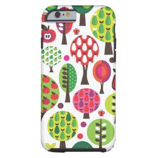Retro flower butterfly pattern iPhone 6 case