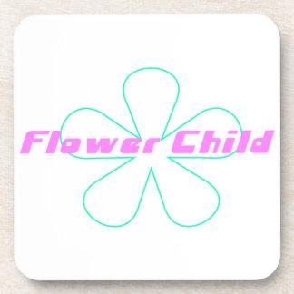 Retro Flower Child Coaster