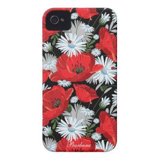 Retro Flower iPhone Case Case-Mate Case iPhone 4 Case