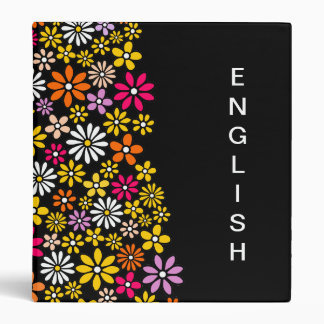 Retro Flower pattern Binder