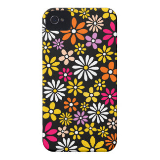 Retro Flower pattern Case-Mate iPhone 4 Case