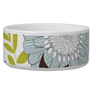 Retro flowers bowl