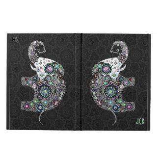 Retro Flowers & Colorful Diamonds Elephant Powis iPad Air 2 Case