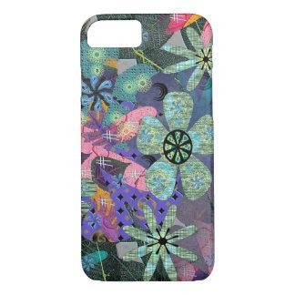 Retro Flowers iPhone 7 Case