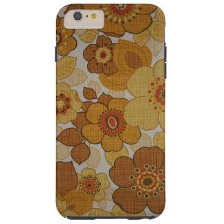 Retro Flowery Tough iPhone 6 Plus Case