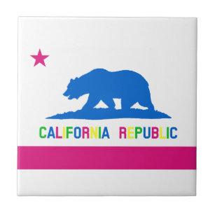 california flag decorative ceramic tiles zazzle