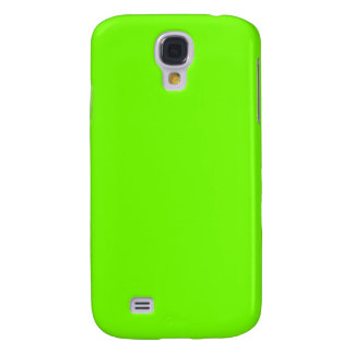 Retro Fluoro Lime-Green Collection Galaxy S4 Cover