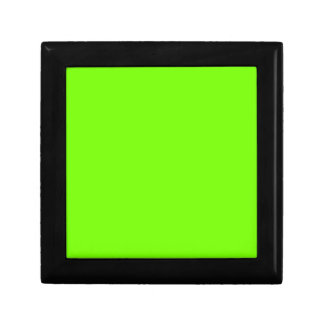 Retro Fluoro Lime-Green Collection Jewelry Box