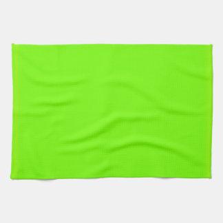 Retro Fluoro Lime-Green Collection Kitchen Towel