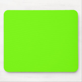 Retro Fluoro Lime-Green Collection Mouse Pad