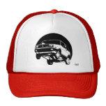 Retro Flying Car Trucker Hat