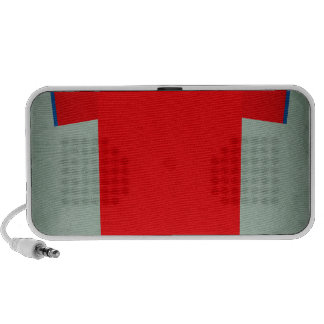 Retro Football Jersey Chile iPod Speaker