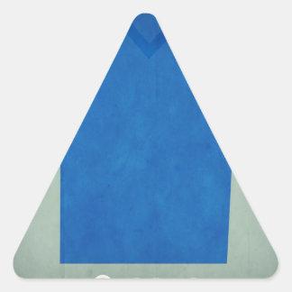 Retro Football Jersey Greece Triangle Sticker