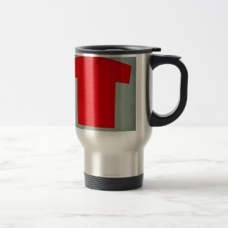 Retro Football Jersey Spain Travel Mug