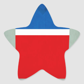 Retro Football Jersey United States Star Sticker