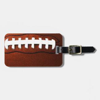 Retro Football Luggage Tag