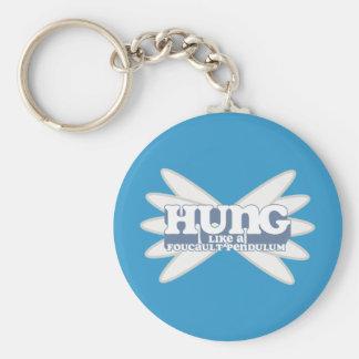 Retro Foucault Pendulum Key Chain