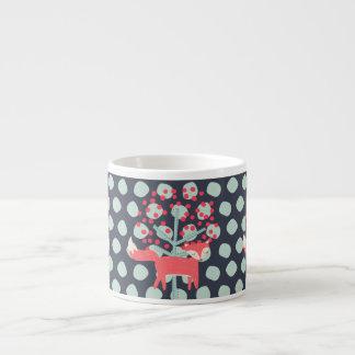 Retro Fox Espresso Cup