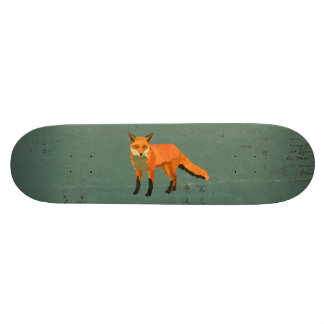 Retro Fox Skateboard