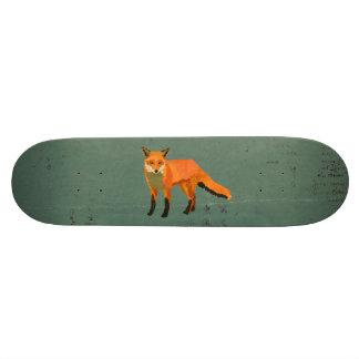 Retro Fox Skateboard