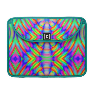 retro,fractal,kaleidoscope,psychedelic,PSYCHEDELIA Sleeve For MacBooks