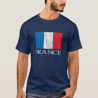 Retro France Flag t-shirt