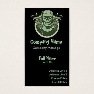 Retro Frankenstein Business Card