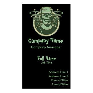 Retro Frankenstein Business Cards