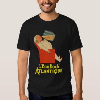 Retro French beer ad Le Bon Bock T-shirt
