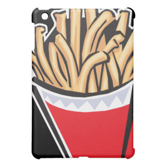 retro french fries design iPad mini cases