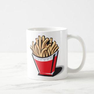 retro french fries design, retro french fries d... coffee mug