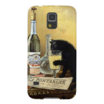 "Retro french poster ""absinthe bourgeois"" galaxy s5 cover"
