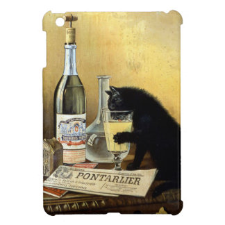 Retro french poster absinthe bourgeois cover for the iPad mini
