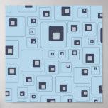 retro-frío-cuadrados impresiones