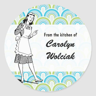 "Retro ""From the Kitchen"" Sticker"