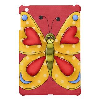 Retro Fun Colorful Butterfly iPad Mini Case
