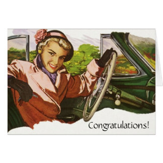 Retro Fun Congratulations Moving To a New Job Card