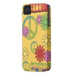 Retro Fun Groovy Hippie Blackberry Bold 9700/9780 iPhone 4 Case