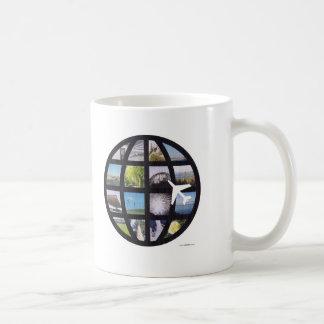 Retro Fun Photos Globe Coffee Mug