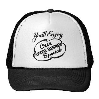Retro Fun Saying Trucker Cap Hat