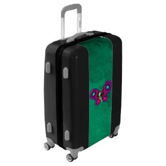 Retro Fun Zombie Butterfly Luggage