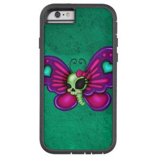 Retro Fun Zombie Butterfly Tough Xtreme iPhone 6 Case