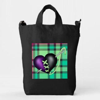 Retro Fun Zombie Heart Duck Bag
