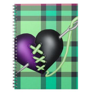 Retro Fun Zombie Notebook