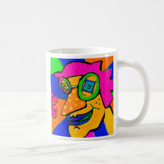 Retro funk dude coffee mug